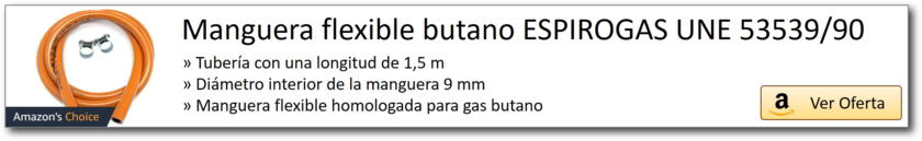 AMAZON_Manguera flexible homologada gas butano