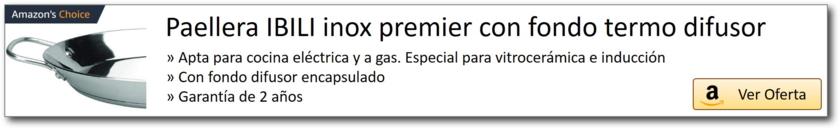 AMAZON_Paellera acero inox fondo termodifusor