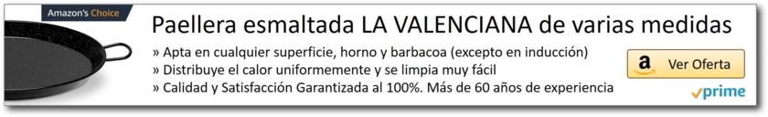 AMAZON_Paellera La Valenciana esmaltada