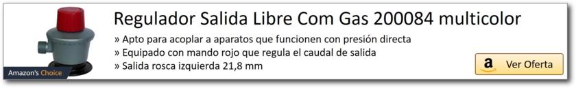 AMAZON_Regulador salida libre gas