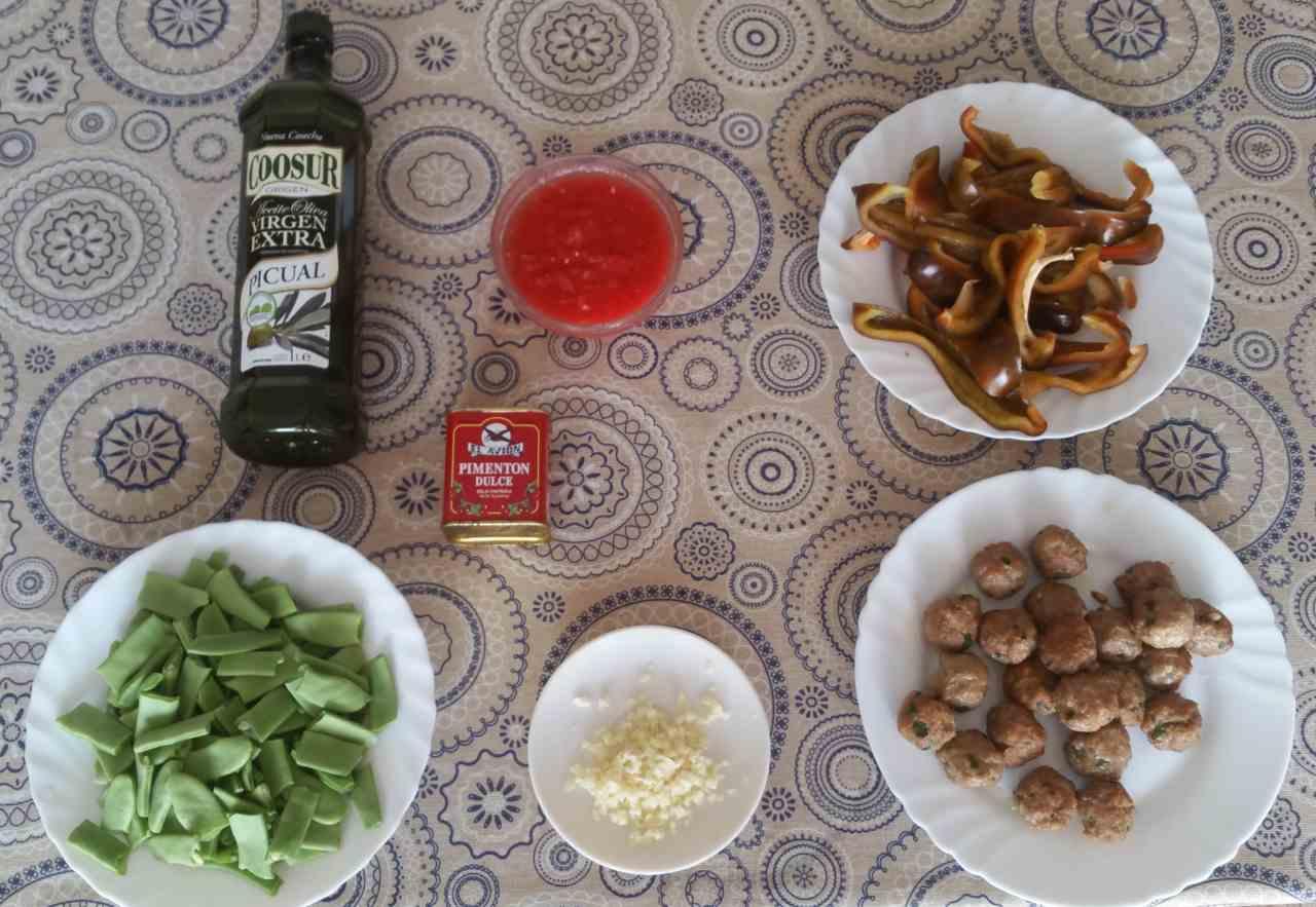Paella de alcachofas ingredientes