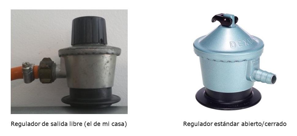 Reguladores gas