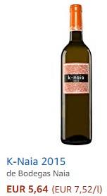 Vino blanco K-Naia
