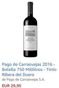 Vino tinto Pago de Carraovejas