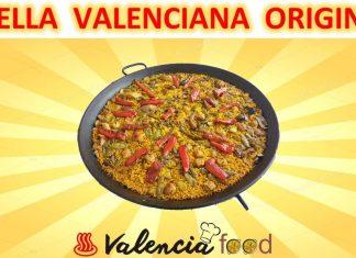 Paella valenciana original