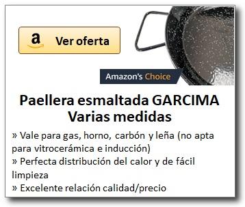 AMAZON_Paelleras esmaltadas marca GARCIMA