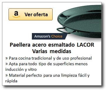 AMAZON_Paelleras esmaltadas marca LACOR